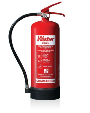 6 Litre Water Fire Extinguisher